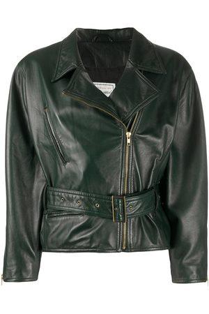 A.N.G.E.L.O. Vintage Cult 1980s belted leather biker jacket