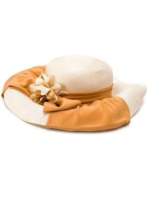 A.N.G.E.L.O. Vintage Cult 1980s raffia bow hat
