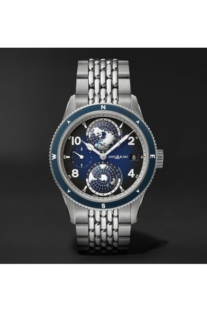 Mont Blanc Men Watches - 1858 Geosphere Automatic 42mm Titanium and Stainless Steel Watch, Ref. No. 125567