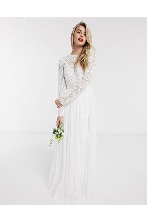 ASOS Elizabeth beaded bodice wedding dress