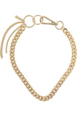 Coup De Coeur Hoop linked chain necklace