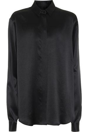 Saint Laurent Silk-satin shirt