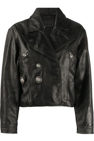 VERSACE 1990s leather jacket