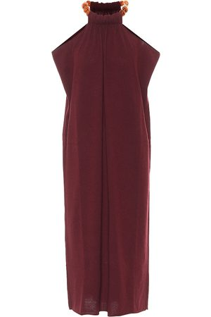 Jil Sander Halterneck wool and cashmere dress