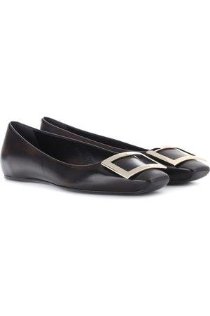 Roger Vivier Women Ballerinas - Belle Vivier leather ballet flats