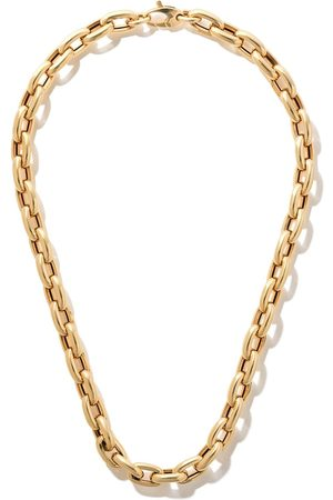 """AS29 18kt yellow 18"""" bold links chain necklace"""