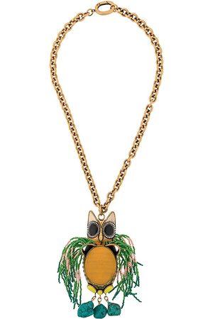 La DoubleJ Gufo grande necklace