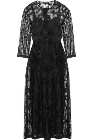 Max Mara Paride cupro midi dress