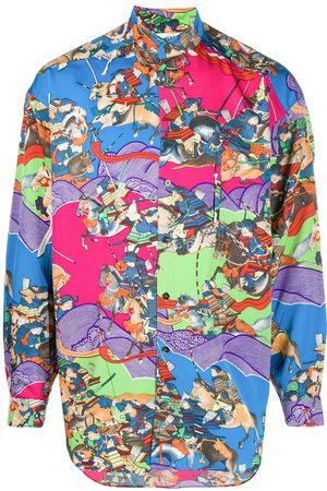 KANSAI YAMAMOTO 1980s printed shirt
