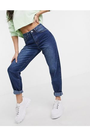 Missguided Mom jeans in blue