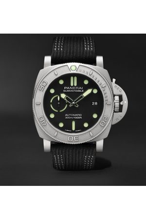 PANERAI Men Watches - Submersible Mike Horn Edition Automatic 47mm Eco-Titanium and PET Watch