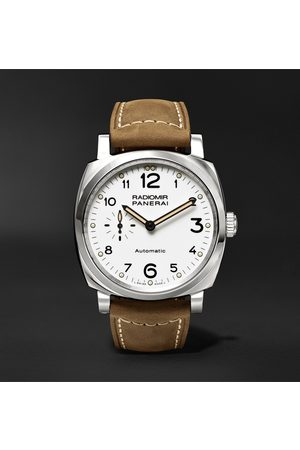 PANERAI Men Watches - Radiomir 1940 3 Days Automatic Acciaio 42mm Stainless Steel and Leather Watch, Ref. No. PAM00655