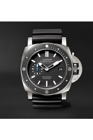 PANERAI Men Watches - Luminor Submersible 1950 Amagnetic 3 Days Automatic 47mm Titanium and Rubber Watch, Ref. No. PAM01389
