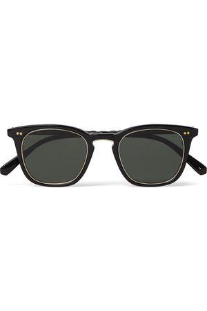 MR LEIGHT Men Sunglasses - Getty S Square-Frame Acetate and Titanium Sunglasses