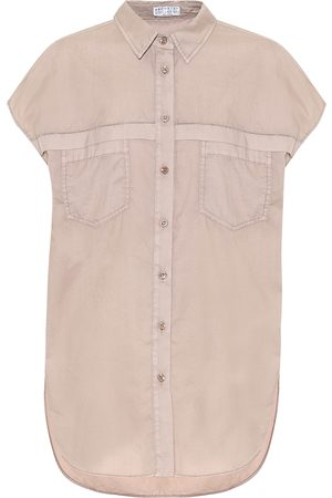 Brunello Cucinelli Exclusive to Mytheresa – Cotton shirt