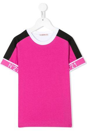Nº21 Colour block T-shirt