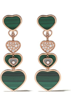 Chopard 18kt diamond Happy Hearts earrings