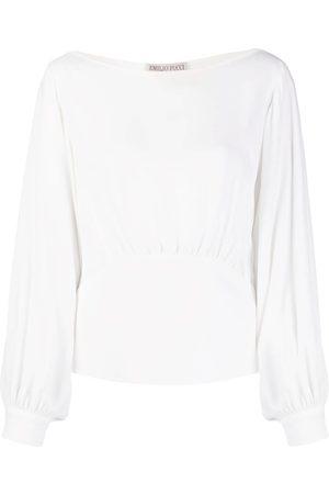 Emilio Pucci Balloon sleeve blouse