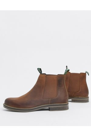 Barbour Farsley leather chelsea boots in