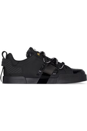 Dolce & Gabbana Portofino logo-embossed low top sneakers