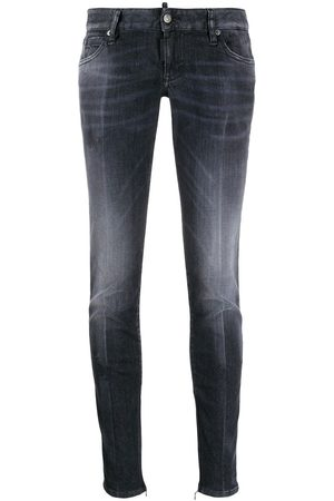 Dsquared2 Ankle zip skinny jeans