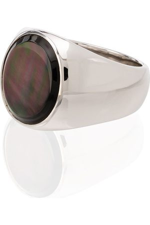 TOM WOOD Sterling silver mother-of-pearl ring