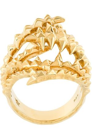 KASUN LONDON The Blades of Octopi ring