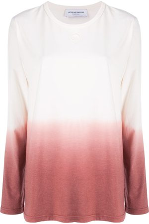 Marine Serre Dip dye long-sleeve T-shirt