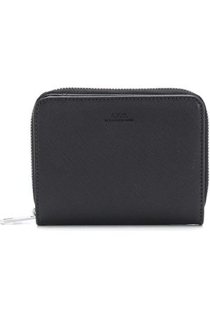 A.P.C Men Wallets - Debossed logo wallet