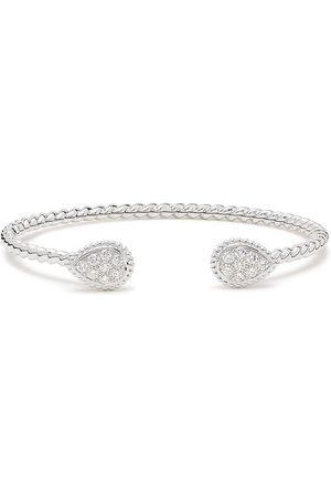 Boucheron 18kt white gold Serpent Boheme 2 S motifs diamond cuff