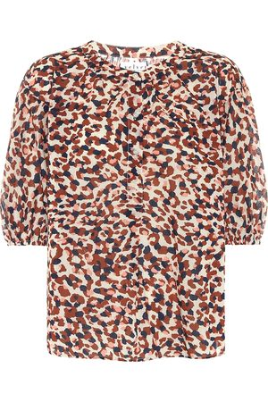 Velvet Albee printed cotton blouse