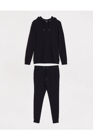 ASOS Organic muscle tracksuit with hoodie in