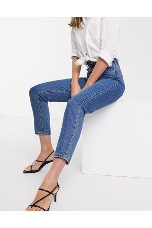 Vero Moda Women Boyfriend - Mom jeans with high waist in medium