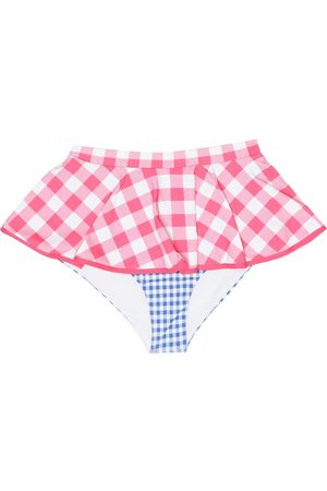 Marysia Exclusive to Mytheresa – Piana gingham bikini bottoms