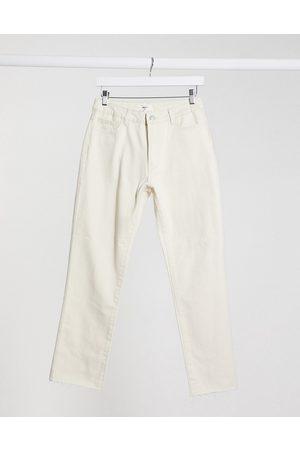 Object Women Sets - Straight leg jeans co-ord in ecru