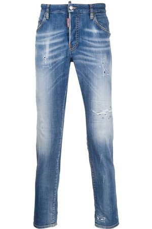 Dsquared2 Distressed-effect slim-fit jeans