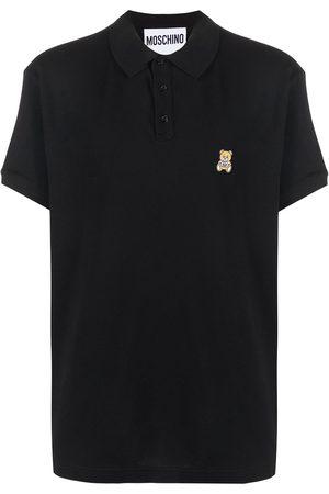 Moschino Teddy bear-patch polo shirt