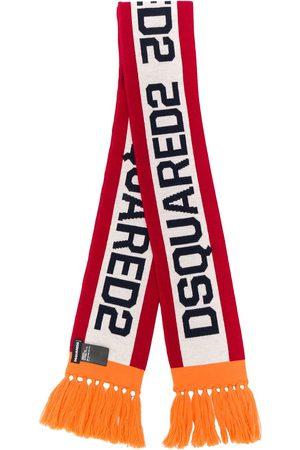 Dsquared2 Logo-jacquard skinny scarf
