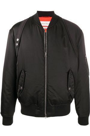 Alexander McQueen Boxy bomber jacket