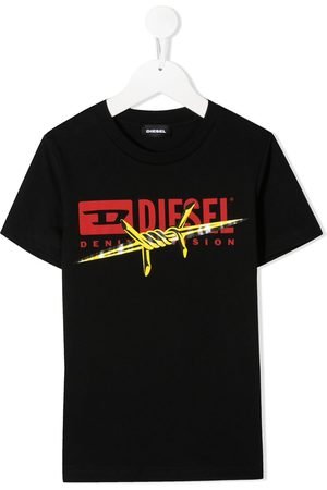 Diesel Graphic print logo T-shirt