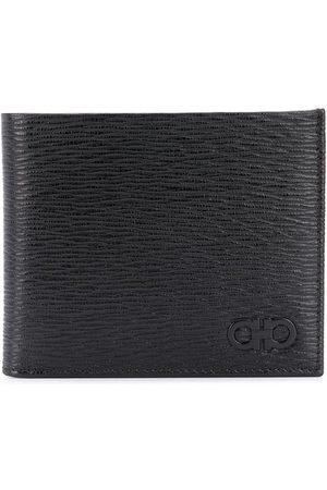 Salvatore Ferragamo Gancini pebbled wallet