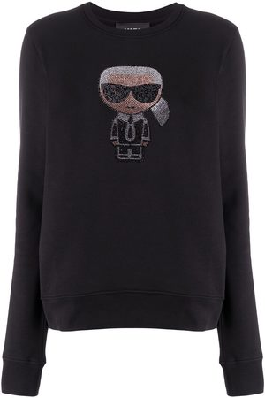 Karl Lagerfeld K/Ikonik sparkle sweatshirt