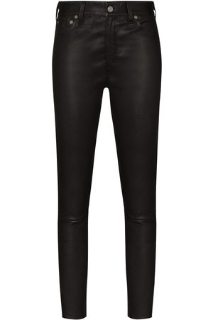 Polo Ralph Lauren Leather skinny trousers