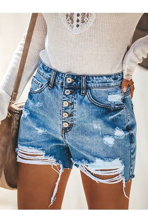 YOINS Classic Five Pockets High-Waisted Shorts