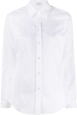 Etro Pointed collar cotton shirt