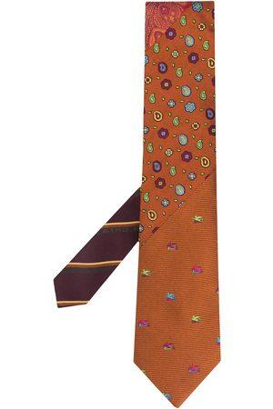 Etro Men Bow Ties - Patterned silk tie