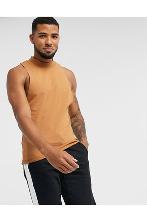 ASOS Muscle vest with racer front in