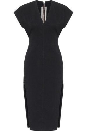 Rick Owens Cotton-blend midi dress