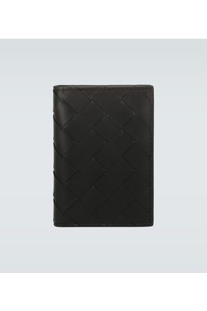 Bottega Veneta Folded leather cardholder