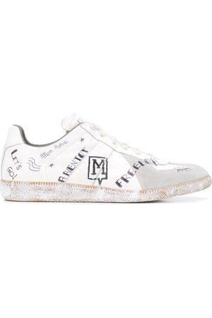 Maison Margiela Doodle print sneakers